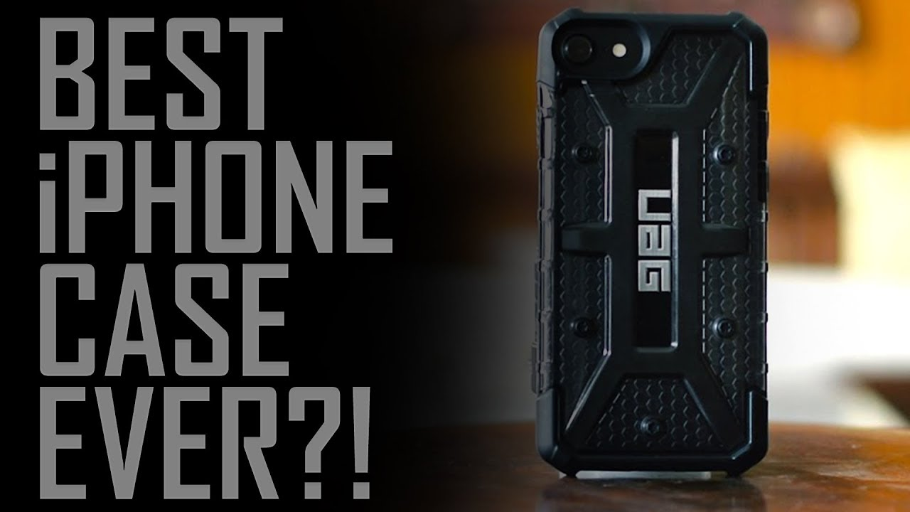new york d9b38 5a127 Urban Armor Gear Plasma iPhone 8/7 Case {Review}// Best Case For iPhone 8/  iPhone 7!
