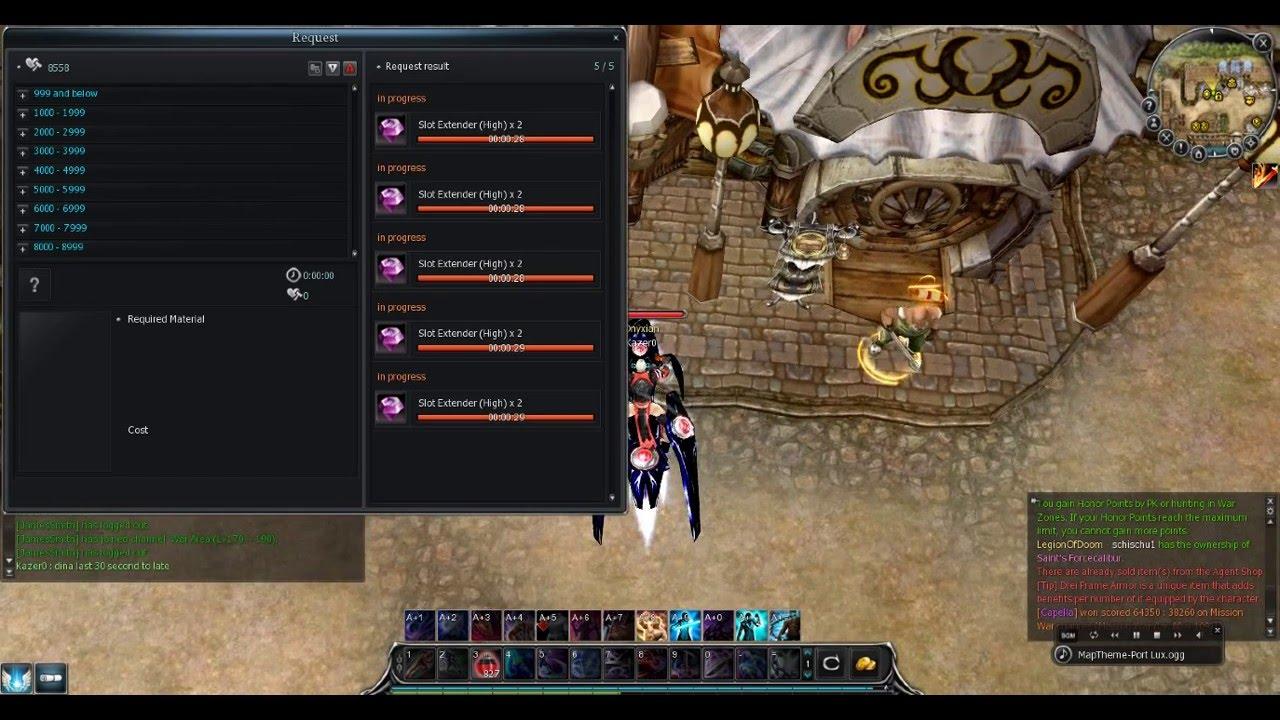 rf online slot extender