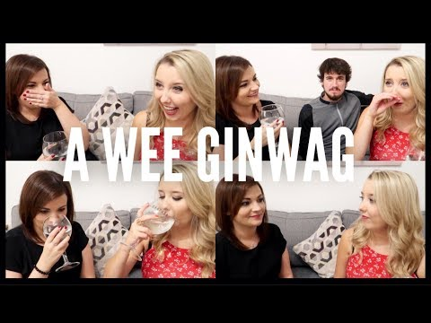 SCOTTISH GIRLS GET DEEP | A WEE GINWAG ft Amy + Her Boyfriend
