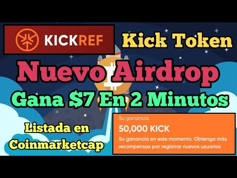 Kick Exchange | Nuevo Airdrop Gana $7 En 2 Minutos | Sin Inversion✔ 5