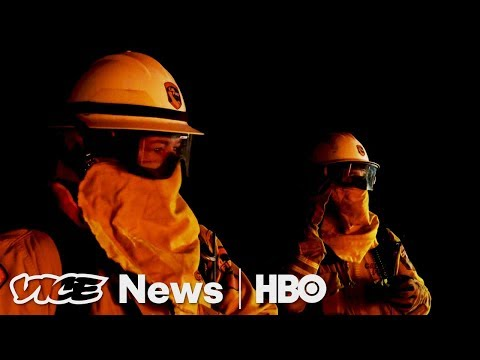 Front Lines Of California's Fires & Capturing Carbon: VICE News Tonight Full Episode (HBO)
