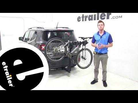 Thule Hitching Post Pro Hitch Bike Racks Review - 2016 Jeep Renegade - etrailer.com