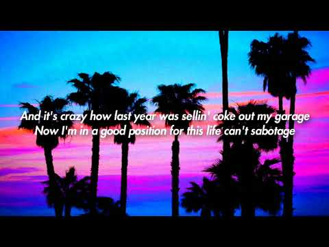 Lil Skies - Welcome To The Rodeo (Lyrics on screen)