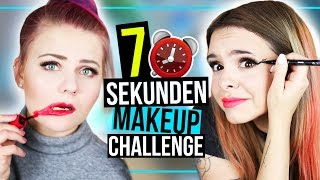 7 SEKUNDEN MAKEUP CHALLENGE mit DominoKati! ⏰ - #GLOWvember