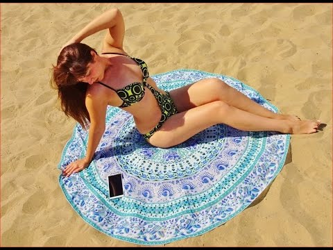 My New Beach Towel Cover Up and Tablecloth From Lightake , 3 in One!