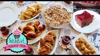 2 Saatte Çay Menüsü: Tek Hamur 2 Çeşit Tuzlu+ Vişneli Islak Kek+ Salata+Börek   Ayşenur Altan