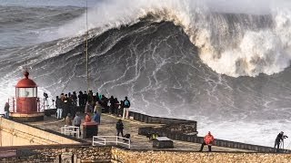 Nazaré - Big Sunday: As Big as it Gets! (2014/Feb/02)