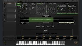 Pad Motion 2 0 Sample Synth Section