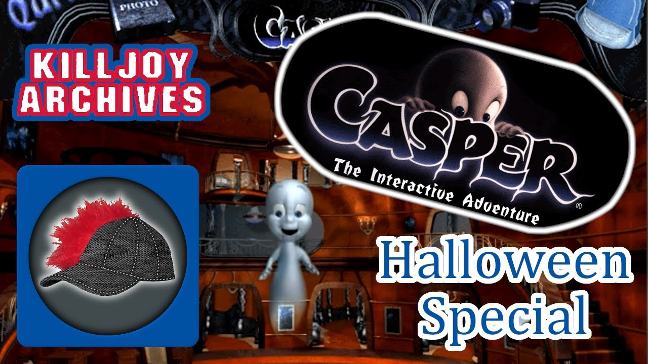 Casper the friendly ghost computer game
