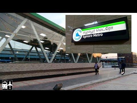 BRAND NEW - CHENNAI EGMORE METRO   Inauguration   First Day Run