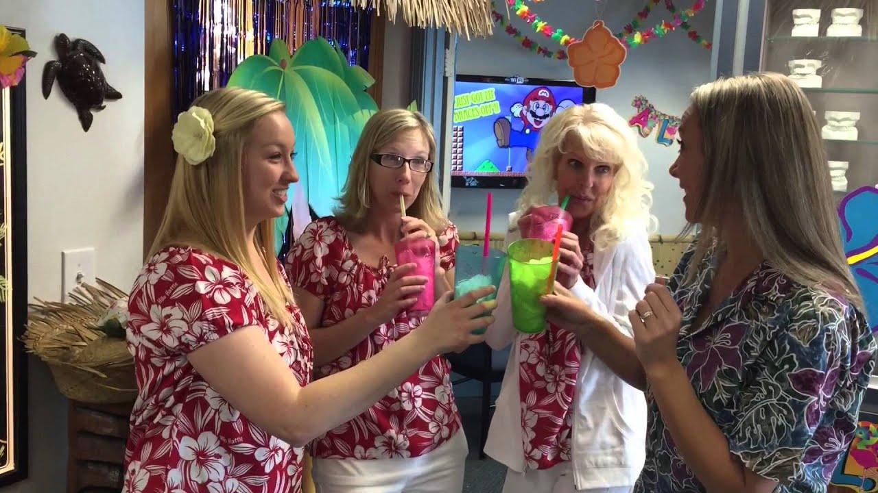 Hawaii dress up week - Paulson orthodontics Redlands - YouTube