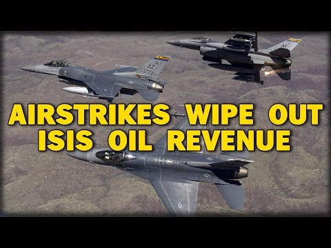 AIRSTRIKES WIPE OUT 30% lSlS OIL REVENUE
