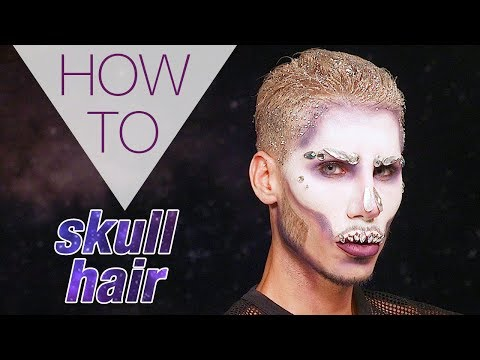 SKULL HAIR | HALLOWEEN | DANNY DEFREITAS | HAIR TUTORIAL | Superdrug