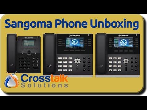 Sangoma Phone Unboxing