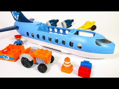 Building Blocks Toys for Children: Jumbo Jet Airplane + Creative Play