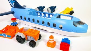 Building Blocks Toys For Children: Jumbo Jet Airplane   Creative Play