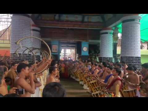 Chenda Melam - Full HD - Kuttan Marar - Poornathrayeesha Temple Nadappura