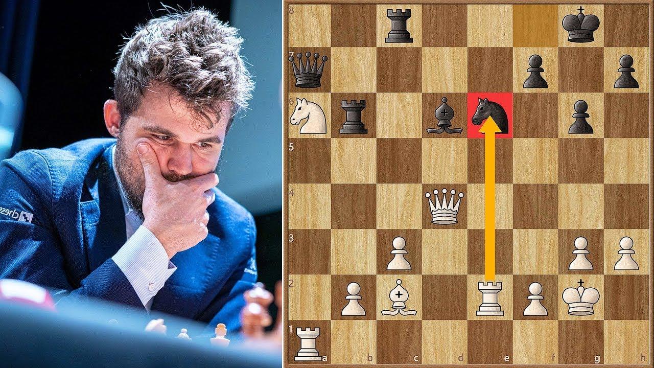 When in London    || Carlsen vs Aronian || Grand Chess Tour Finals (2019)