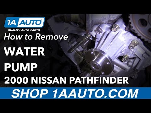How to Replace Water Pump 96-00 Nissan Pathfinder