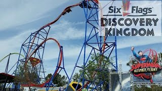 Six Flags Discovery Kingdom 2015 Tour & Review with The Legend