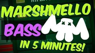 Make Marshmello Signature Bass In 5 Minutes! (+ Presets & Template)