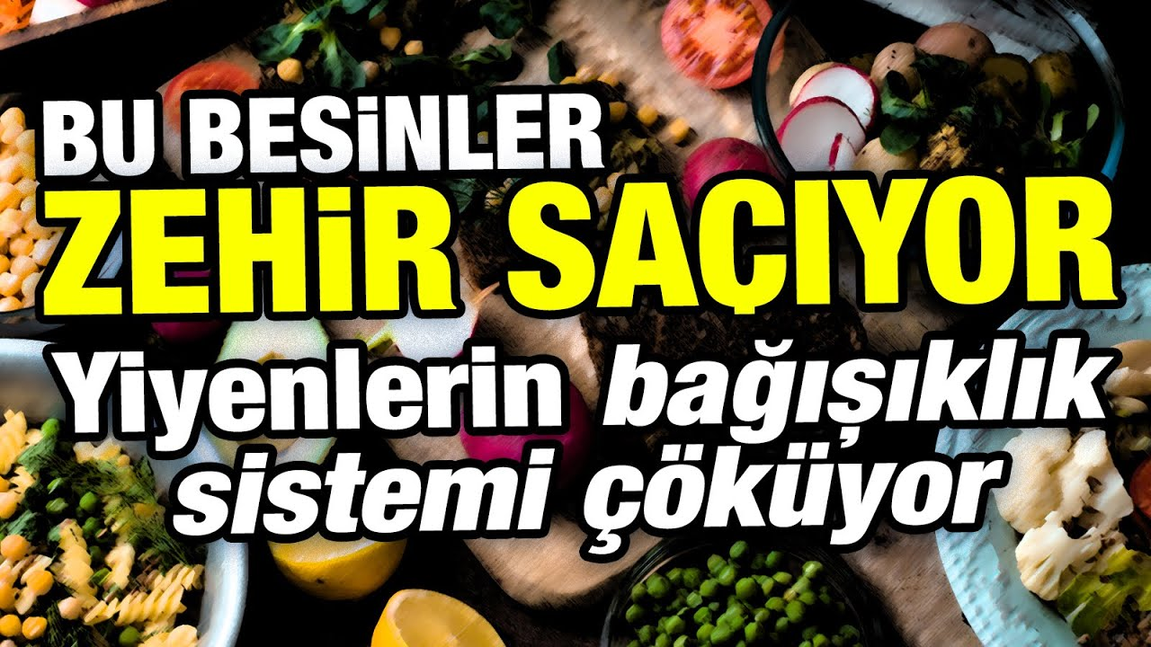 Bu besinleri tüketenlerin bağışıklık sistemi çöküyor! Bağışıklık sistemi için en zararlı besinler...