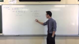 Unusual Trigonometric Derivative Proof