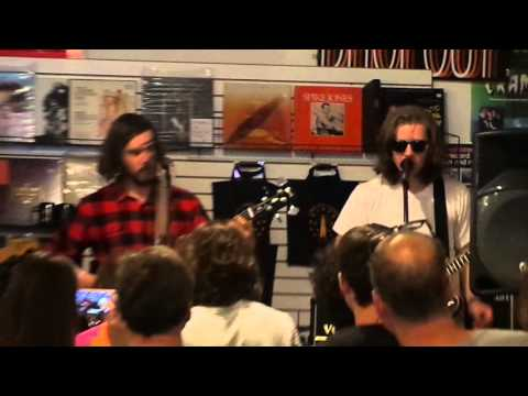 PARQUET COURTS in-store Landlocked Records Bloomington 4-19-2016