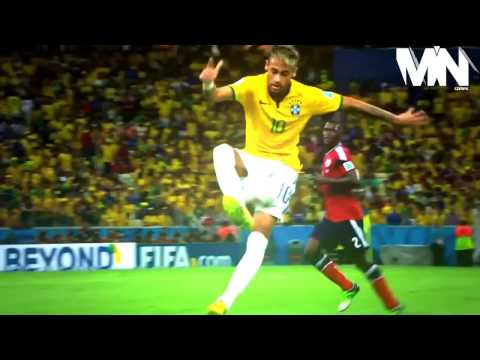 Neymar vs Colombia World Cup 2014 HD