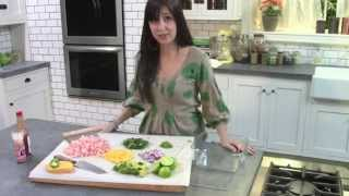 How To Make Shrimp Ceviche With Avocado And Mango, A.k.a Guacaviche // Tasty Bit 39