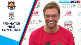West Ham United vs Liverpool : Jurgen Klopp Press Conference