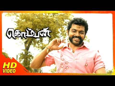 Komban Tamil Movie | Scenes | Karthi Says Lakshmi Menon To Come Back Home | Rajkiran