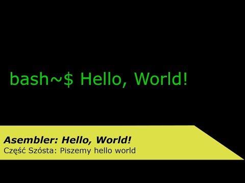 asembler-#6:-piszemy-hello-world!