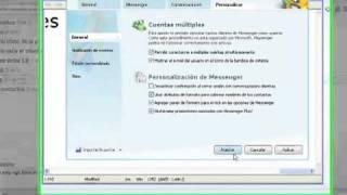 Como iniciar varias secciones en el Messenger 2012