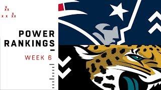 NFL Week 6 Power Rankings!