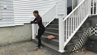 Outdoor HIIT Staircase Workout