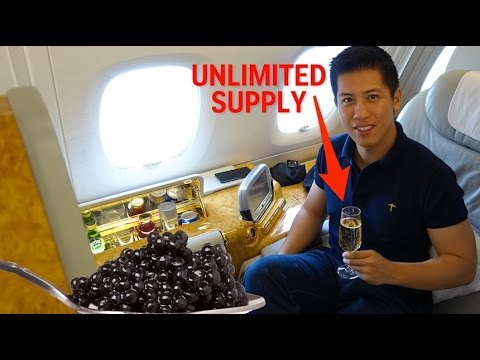 This guy used a frequent flyer loophole to take a $60K first-class trip on Emirates