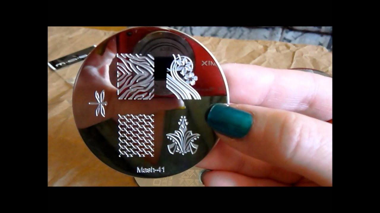 Review of new Mash nail stamping plates 26-50 =) - YouTube