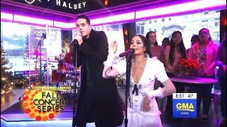 "G-Eazy & Halsey Perform ""Him & I""  (GMA LIVE)"