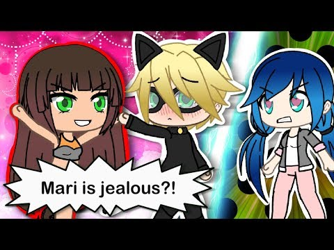 MIRACULOUS LADYBUG AND CHAT NOIR GACHAVERSE SERIES -SIGNS OF ADRIEN † s CRUSH PART9- GACHA LIFE