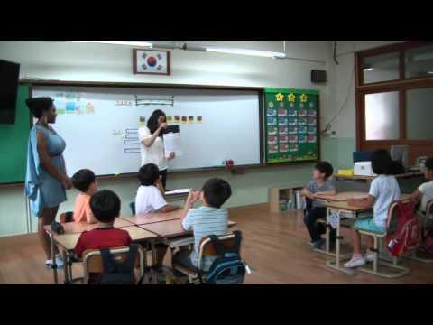 Teaching in South Korea: demonstration