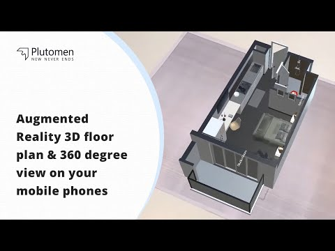 Augmented Reality 3D floor plan & 360 degree view on your mobile phones