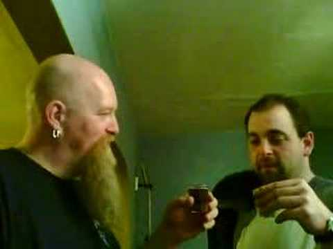 Barry and Rob Black tooth grin shot