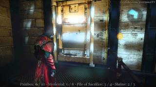 Castlevania Lords of Shadow 2 - All Collectibles - Arts District (Gems, Pile, Memorial,Shrine)
