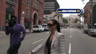 Kim Kardashian Hits Beverly Hills Nail Salon