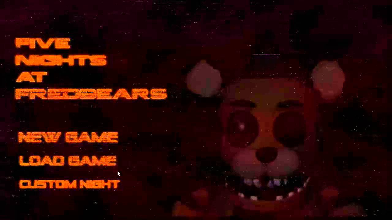 Fredbears family diner demo play now - Five Nights At Fredbear S The Shifts Title Screen Menu Demo