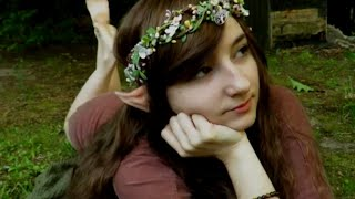 ASMR - Exploring Nature With a Woodland Fairy (Nature Sounds, Whispers & Healing Kisses)