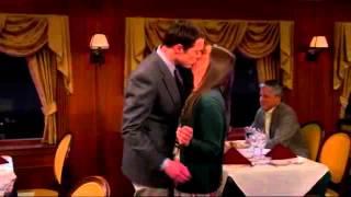 Сериал Теория большого взрыва 7 сезон 15 серия Шелдон и Эми целуются
