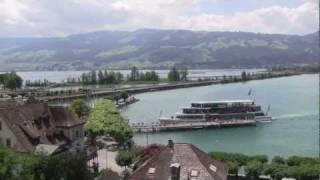 Swiss Trains 6/7: Rapperswil am Zuerichsee / Bahnverkehr ueber den Seedamm thumbnail