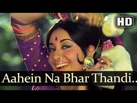 Aahein Na Bhar Thandi - Banphool Songs - Jeetendra - Babita Kapoor